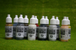 Vallejo BRITISH NAPOLEONIC COLOURS PAINTING SET Model Colour 12 bottle set