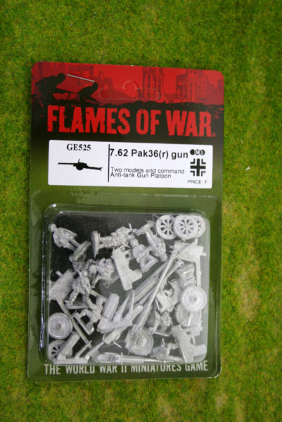 Flames of War GERMAN 7.62cm PaK 36(r) and FK 36(r) guns (GE525)