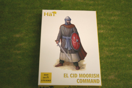 HaT EL CID MOORISH COMMAND 1/72 set 8249