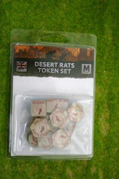 Desert Rats Token Set Flames of War BR901