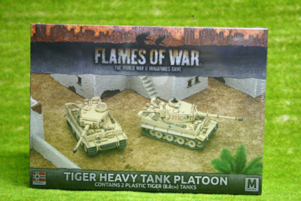 Flames of War Tiger Heavy Tank Platoon (GBX99)