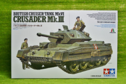 Tamiya BRITISH CRUISER TANK MK VI CRUSADER MkIII 1/35 Scale Kit 37025