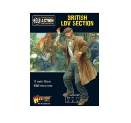 British LDV Section Bolt Action Warlord Games 28mm