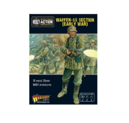 German Waffen SS Section Early War Bolt Action Warlord Games 28mm