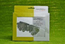 Roco Minitanks GERMAN ROCKET System LARS 2 HO or 1/87th scale 5057