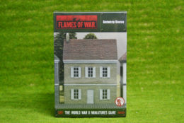 Flames of War ANTWERP HOUSE painted tabletop terrain 15mm BB157