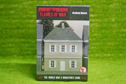 Flames of War ARNHEM HOUSE painted tabletop terrain 15mm BB158