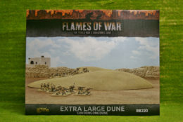 FLAMES OF WAR EXTRA LARGE DUNE painted tabletop terrain 15mm to 28mm BB220