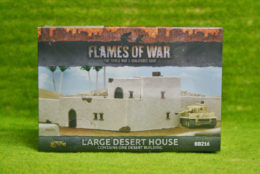 Flames of War LARGE DESERT HOUSE painted tabletop terrain 15mm BB216
