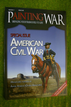 PAINTING WAR ISSUE #8 AMERICAN CIVIL WAR BOOK/ MAGAZINE