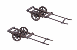 Japan Rice Cart Set SAMURAI/ JAPANESE 28mm Laser cut MDF scale Building B025