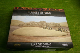FLAMES OF WAR LARGE DUNE painted tabletop terrain 15mm to 28mm BB221