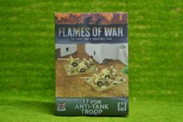 Flames of War 17PDR ANTI TANK TROOP (GBX41)