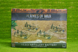 Flames of War 10.5 ARTILLERY BATTERY (GBX91)