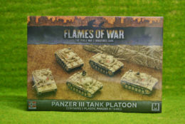 Flames of War PANZER 3 TANK PLATOON (GBX96)