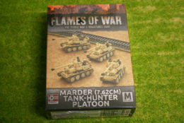 Flames of War MARDER 7.62CM TANK-HUNTER PLATOON 15mm GBX101