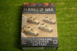 Flames of War LORRAINE SCHLEPPER BATTERY 15mm GBX95