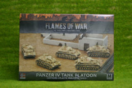 Flames of War PANZER 4 Tank Platoon GBX97