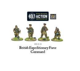 BEF Command Bolt Action Warlord Games 28mm