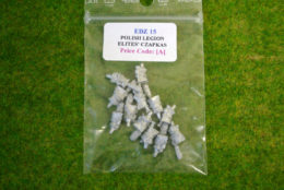 Trent Miniatures POLISH LEGION ELITES CZAPKAS SEPARATE HEADS EDZ#15