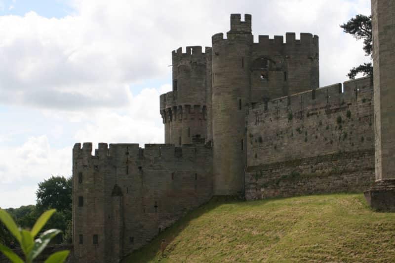 Approach to Warwick Castle