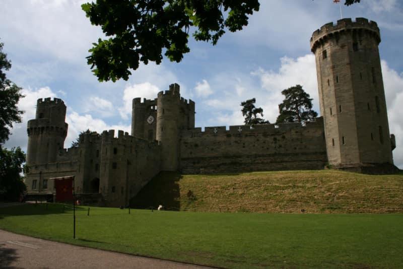 Warwick Castle gate house
