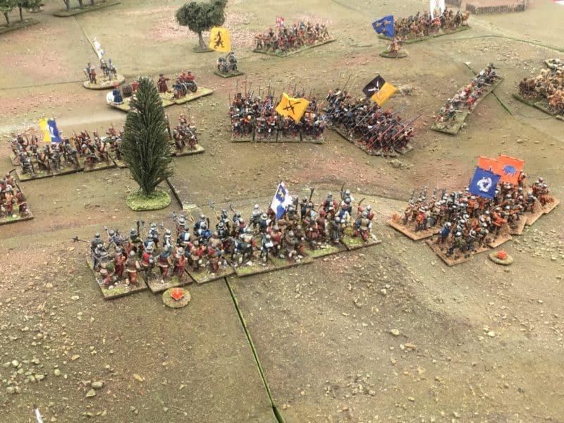 The Battle of Stoke field