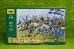 FRENCH Knights XV AD 1/72 Zvezda 8036
