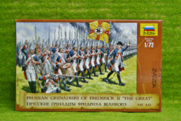 Zvezda PRUSSIAN GRENADIERS OF FREDERICK II THE GREAT 8071