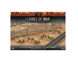 Flames of War 6 PDR ANTI-TANK PLATOON PLASTIC 15mm BBX38
