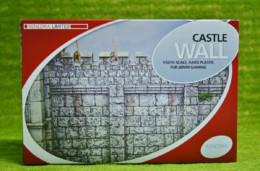 CASTLE WALL Plastic Scenery Terrain 28mm – 1/56th Scale