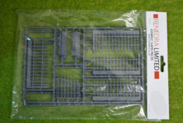 RAILINGS WITH GATE Renedra Wargames Scenery & Terrain 28mm