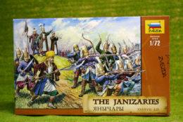 THE JANIZARIES 16-17 Century A.D. 1/72 Zvezda 8050