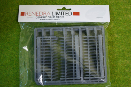 RAILINGS Renedra Wargames Scenery &  Terrain 28mm
