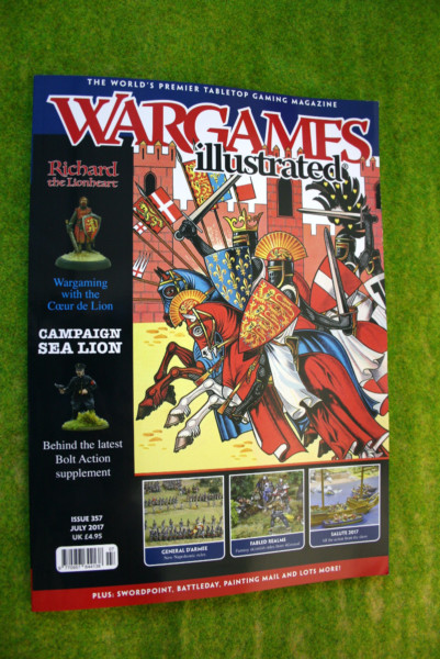 WARGAMES ILLUSTRATED ISSUE 357 July 2017 MAGAZINE