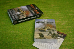 AFRIKA KORPS COMMAND CARDS Flames of War FW242C