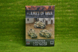 Flames of War HUMBER ARMOURED CAR TROOP BBX34