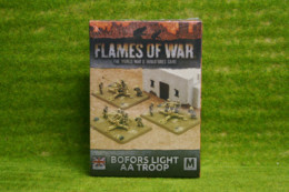 Flames of War BOFORS LIGHT TROOP BBX36