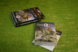 DESERT RATS COMMAND CARDS Flames of War FW241C