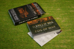 FOG OF WAR OBJECTIVE CARDS Flames of War FW0070