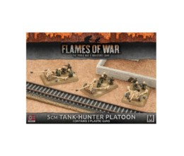 Flames of War 5CM TANK-HUNTER PLATOON PLASTIC 15mm GBX93