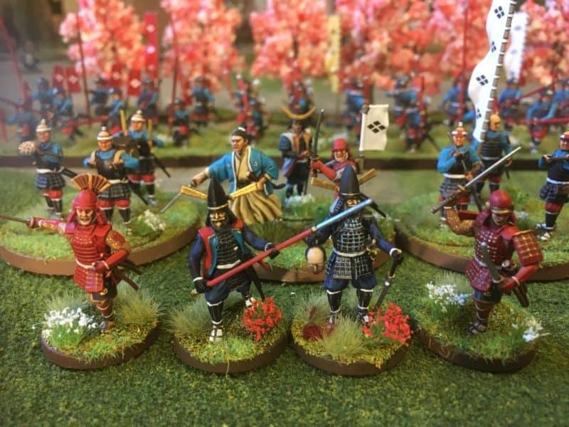 Samurai charge!