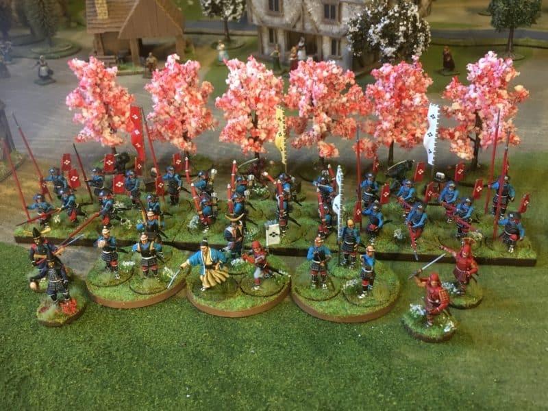 Full Samurai War Band!