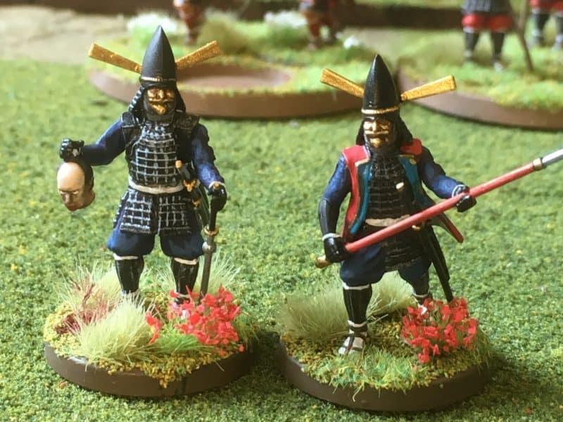 Black Samurai close up