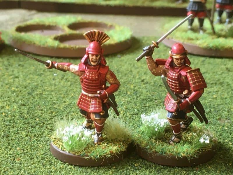 Red Samurai close up
