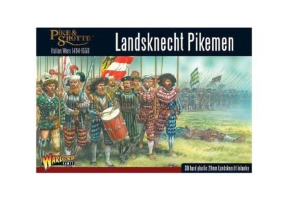 LANDSKNECHTS PIKEMEN Warlord Games Pike & Shotte 28mm SD