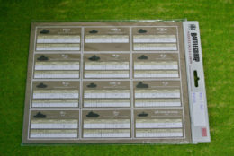 Battlegroup: ALLIED AND AXIS DATA CARDS BGK024