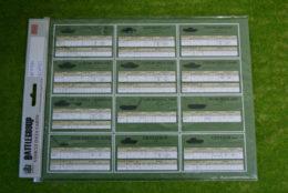 Battlegroup: BRITISH DATA CARDS BGK021