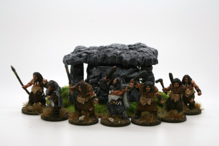 Lucid Eye Neanderthal BUGNAG and his Bods Savage Core Faction 28mm FACTION01