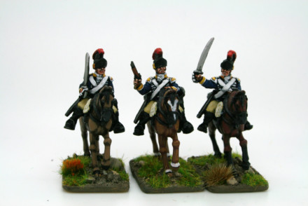 Trent Miniatures BRITISH LIGHT DRAGOONS (Tropical Helmet) CAR22